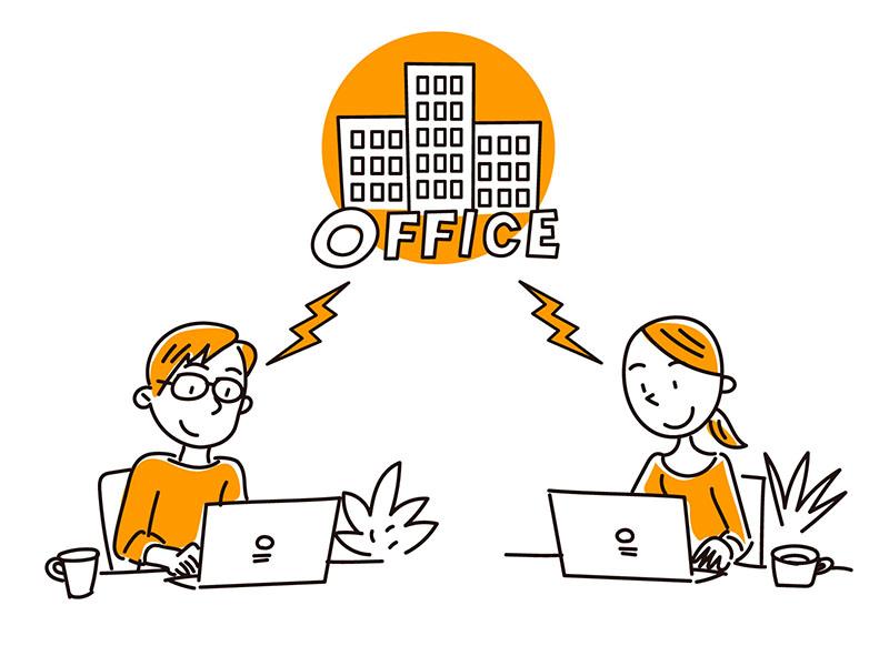 テレワーク用ノートPCのご用意や、安心安全なデータの共有支援を強化中です!