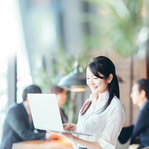 IT導入に関することを 専任の担当者が トータルでサポートします